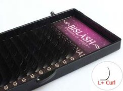 Lashes L+ -curl - Faux Mink lashes thickness 0,15