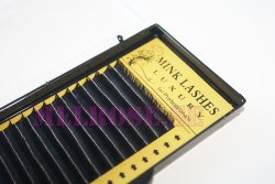 Lashes C-curl - Faux mink lashes thickness 0,05